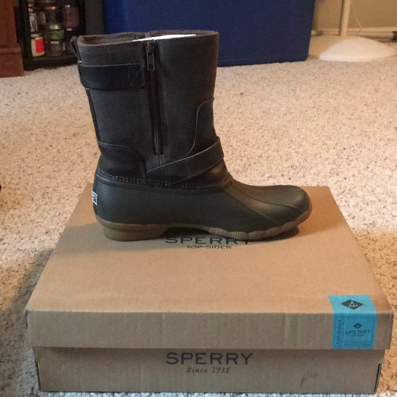 8e8f150a88 Saltwater Acadia Canteen Sperry Duck Boots